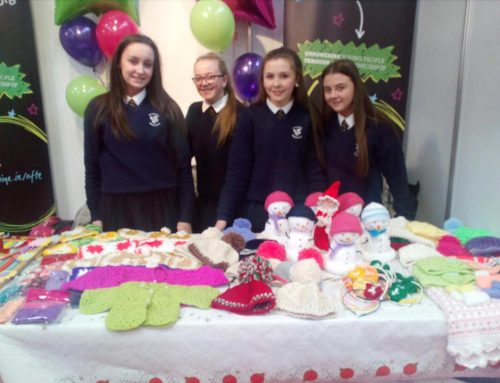 Email of Congratulations from -Foroige re our students at RDS Craft Fair