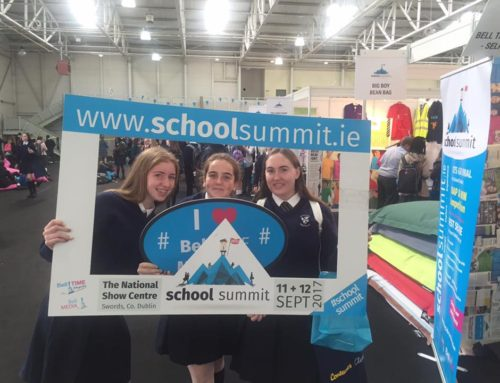 TY Students Attend The National School Summit
