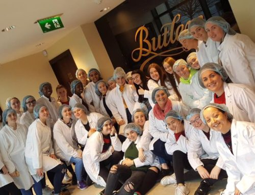 TY students and their Tutors  visit Butlers Chocolate Factory