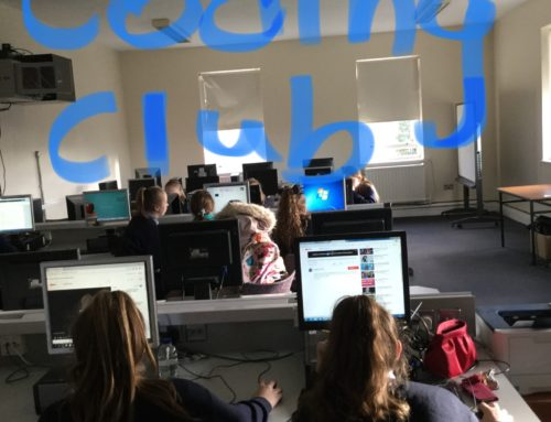 Snaps and News from our 1st Year  Coding Club
