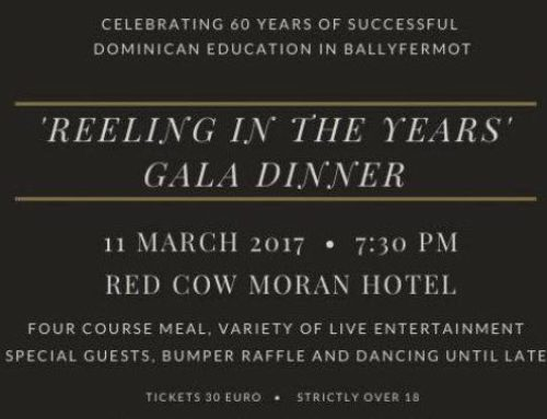 The Countdown is on to our Celebration Gala Dinner –  'Reeling in the Years'