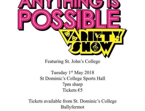 'Anything is Possible Variety Show' 2018