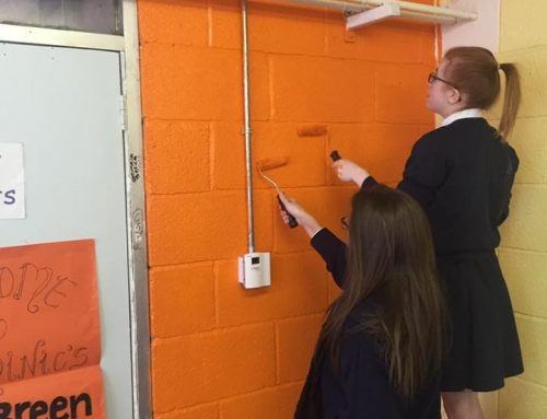 School goes Orange for Mental Health